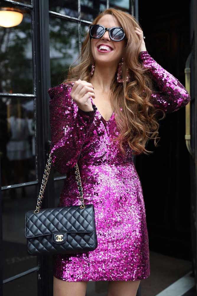 Short Purple Holiday Dress #purpledress