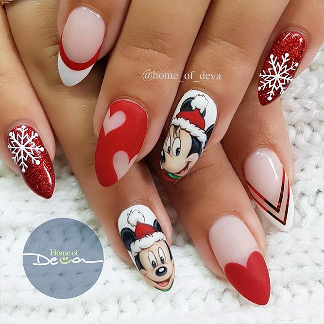 Beautiful Christmas Nail Designs Picture 3