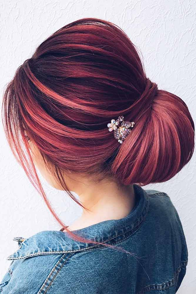 Colorful Updo Hairstyles for Winter Holidays Picture 2