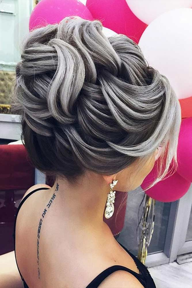 Colorful Updo Hairstyles for Winter Holidays Picture 6