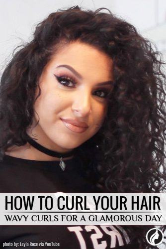 How to Make Wavy Curls