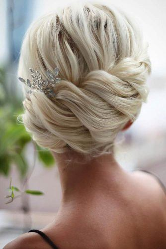 Elegant Formal Updo With Accessories #eleganthairstyles #hairaccessories