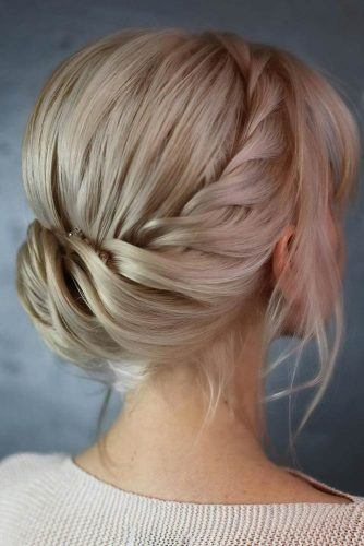 Harness Updo Hairstyle #fabhairstyle #prettyhairstyles