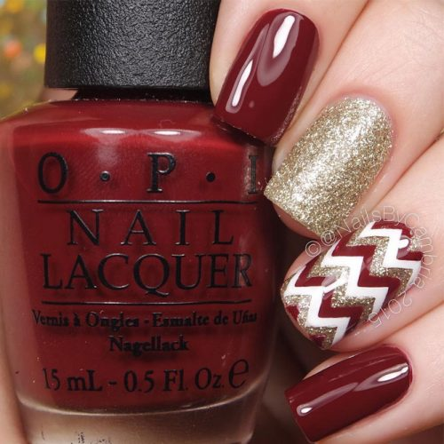 Glitter Winter Nail Ideas picture 2