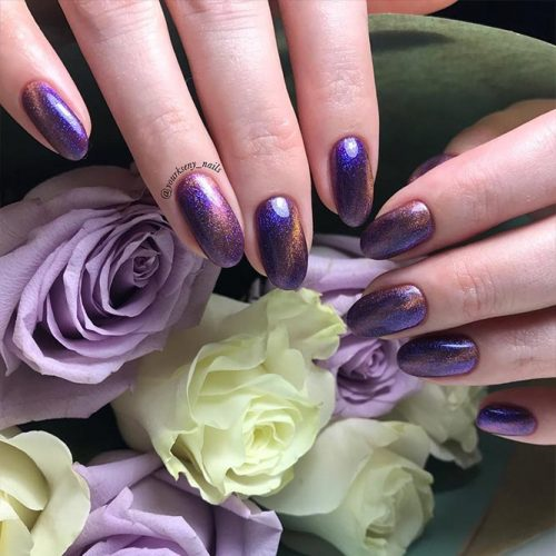 Amazing Galaxy Nails Ideas for Winter Picture 2