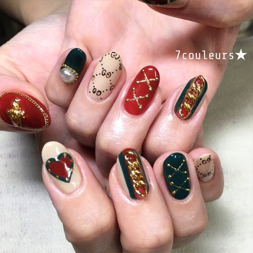 Cute Christmas Style Nails for Holidays Picture 1