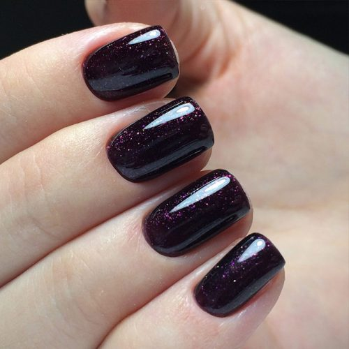 Amazing Galaxy Nails Ideas for Winter Picture 1