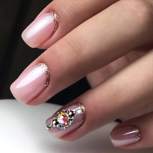 Cute Winter Nails in Pink Shades Picture 6