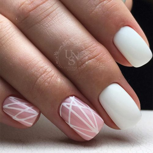 Cute Winter Nails in Pink Shades Picture 2