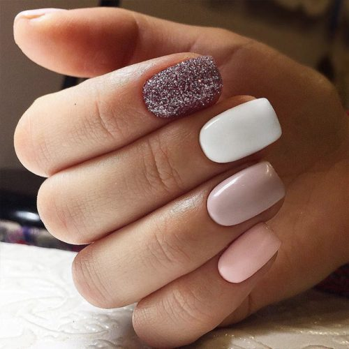 Cute Winter Nails in Pink Shades Picture 5