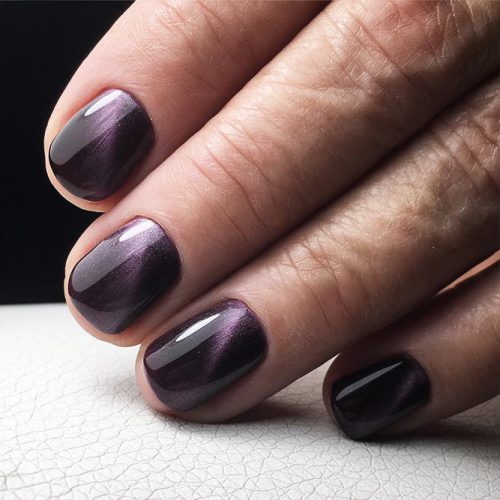 Amazing Galaxy Nails Ideas for Winter Picture 4