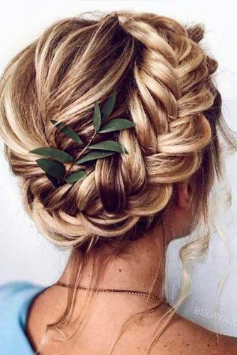 Braided Crown For Holiday Hair #crownedhairstyles #braidedcrown