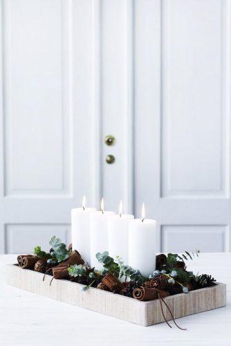 Simple Holiday Centerpiece Ideas