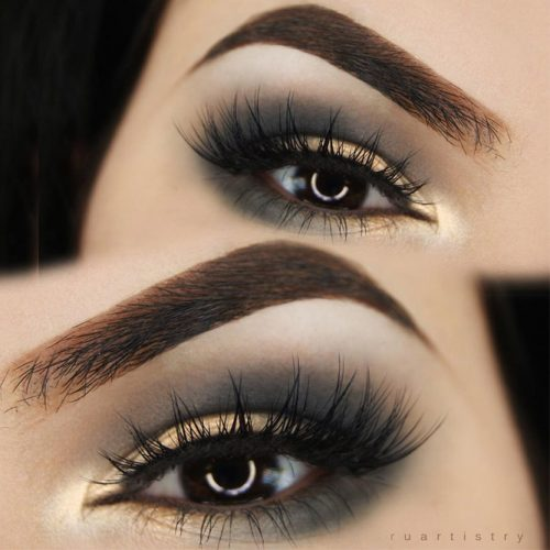 Hooded Eyelids with Smokey Makeup picture1