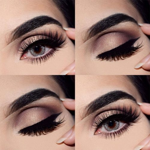 Hooded Eyelids with Smokey Makeup picture2