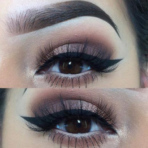 Prominent Eyes with Smokey Makeup picture3