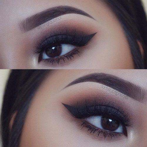Smokey Eye Makeup for Monolid Eyes picture3