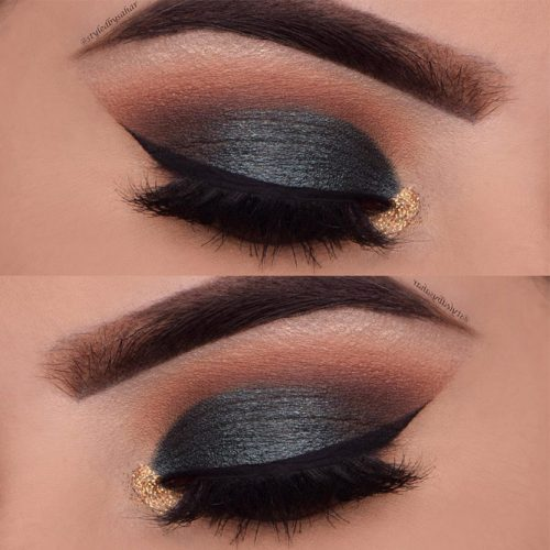 Smokey Eye Makeup Ideas for Deep Set Eyes picture1
