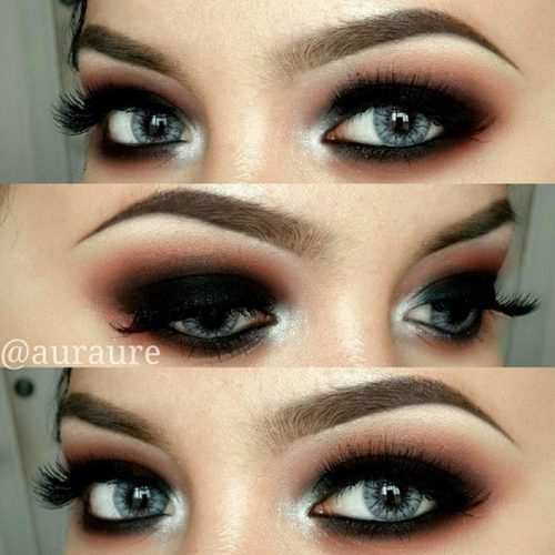 Prominent Eyes with Smokey Makeup picture2