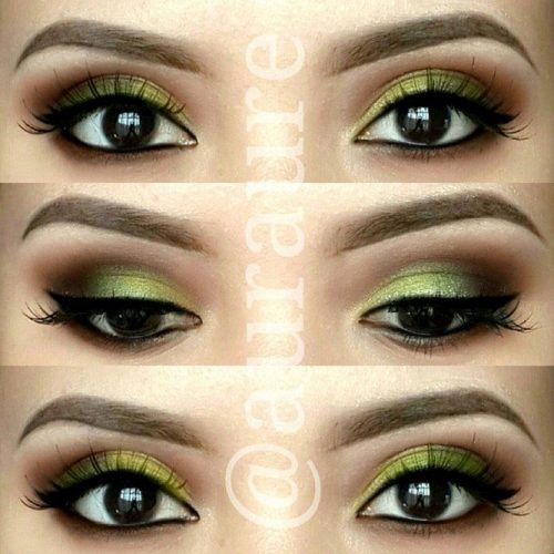 Smokey Eye Makeup for Monolid Eyes picture2