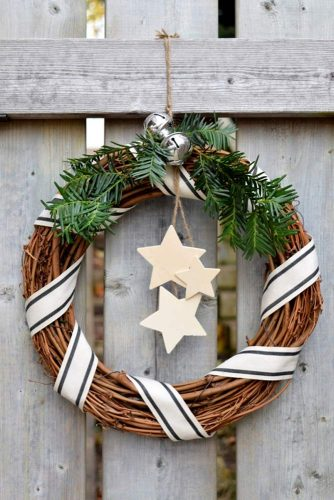 6 Stunning Rustic Christmas Decoration