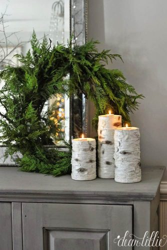 Stunning Rustic Christmas Decoration