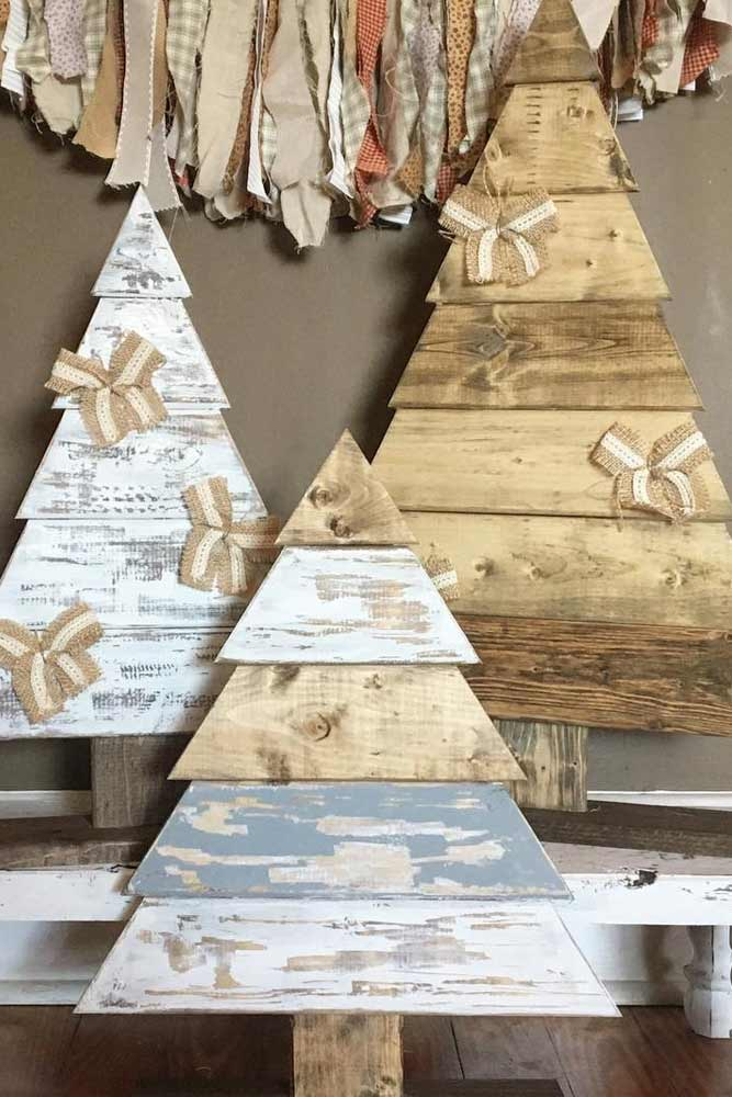 Modern Rustic Christmas Decorations picture 1