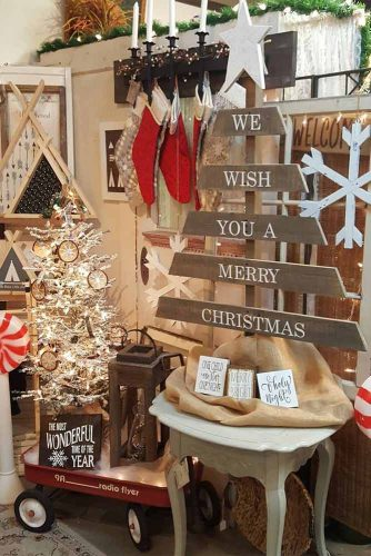Magnificent Rustic Christmas Decoration picture 1