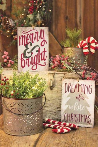 Magnificent Rustic Christmas Decoration picture 4
