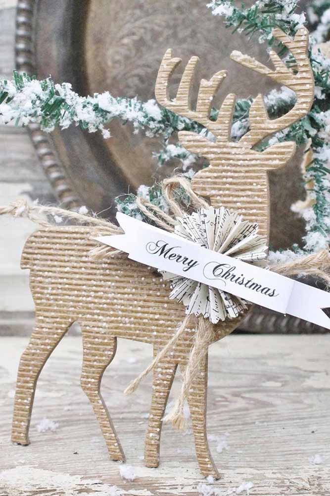 Modern Rustic Christmas Decorations picture 5
