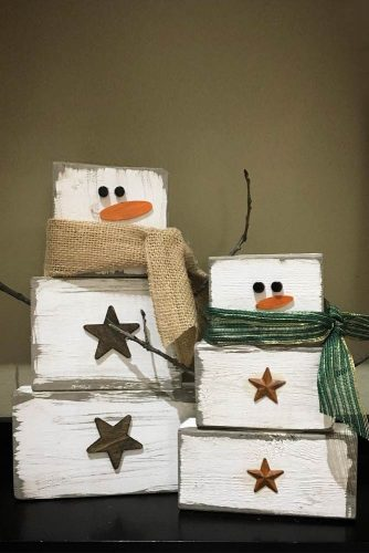 Modern Rustic Christmas Decorations picture 3