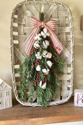 Christmas Tobacco Basket Design #tobaccobasket