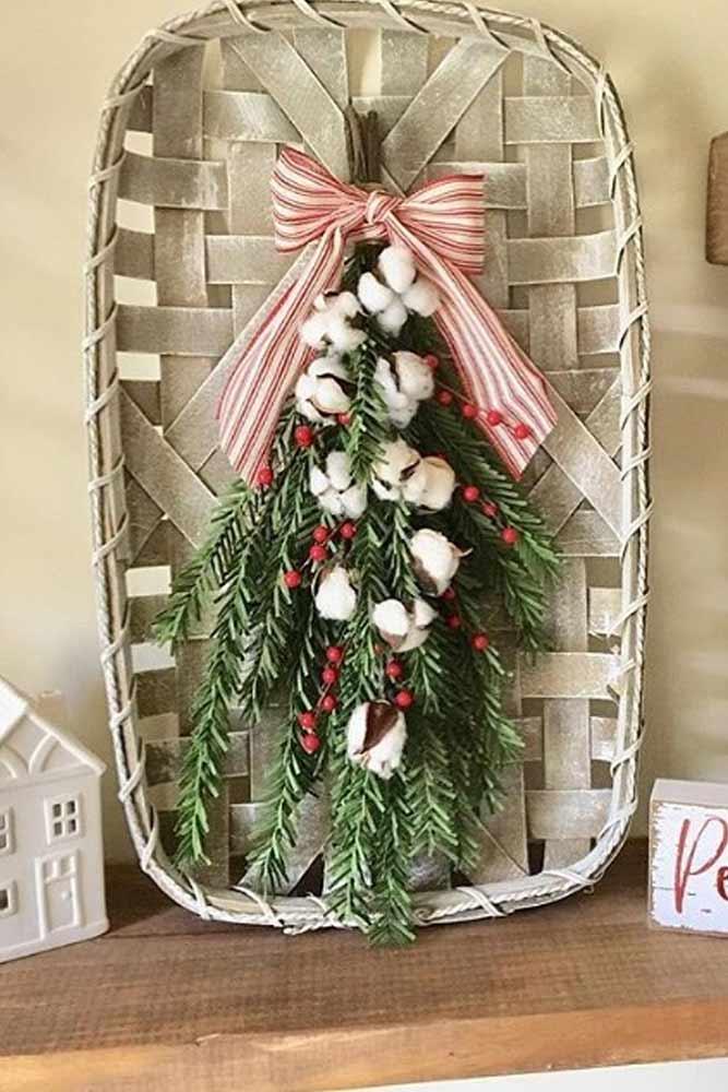 Christmas Tobacco Basket Design #tobaccobasket