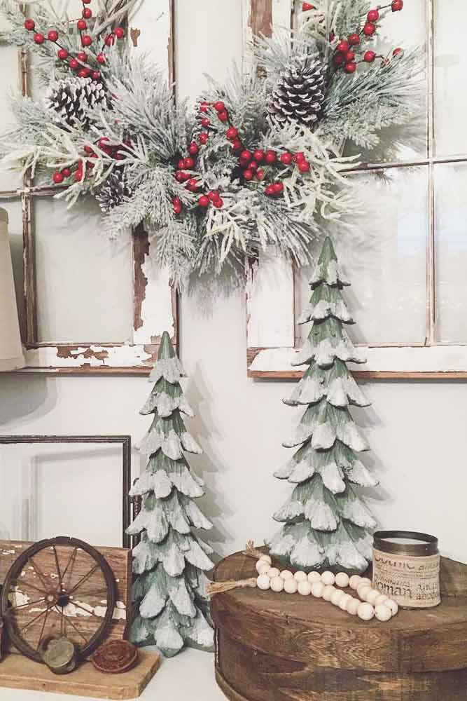 Magnificent Rustic Christmas Decoration picture 2