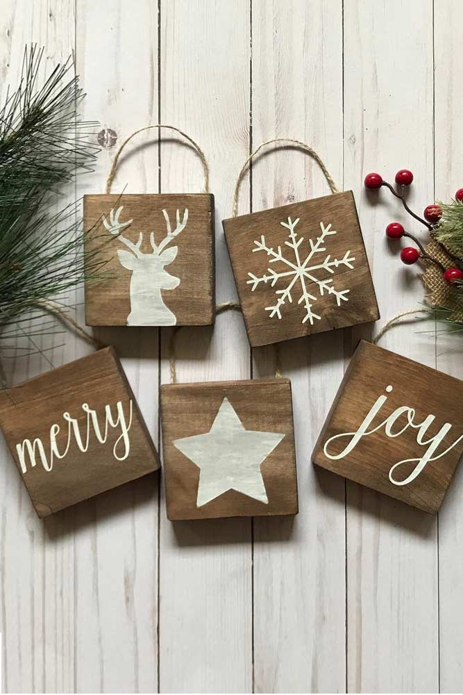 Modern Rustic Christmas Decorations picture 2