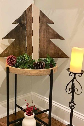 Easy Rustic Christmas Decoration Ideas picture 2