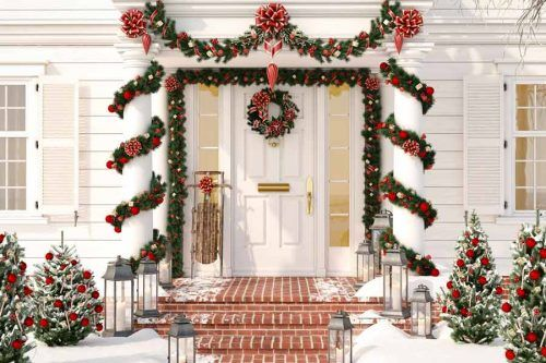 30 Ways To Decorate With Spectacular Christmas Garland