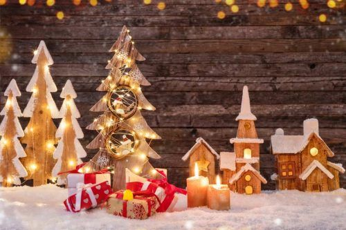 33 Stunning Rustic Christmas Decoration