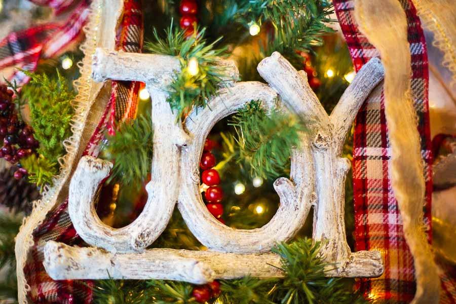 Stunning Rustic Christmas Decoration