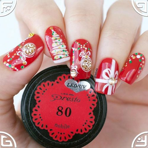 Beautiful Holiday Nail Arts Picture 3