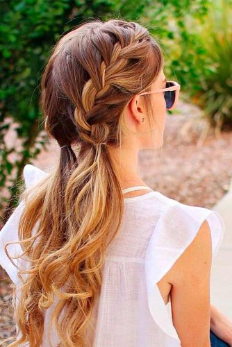 Easy and Chic Hairstyles for Long Hair picture 3