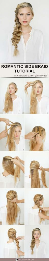 Big French Side Braid Tutorial