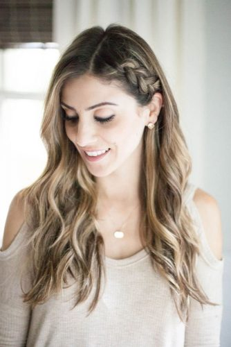 Half Up Side Braid To Master