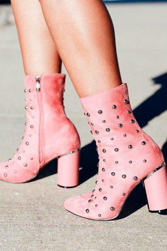 Funky Pink Booties