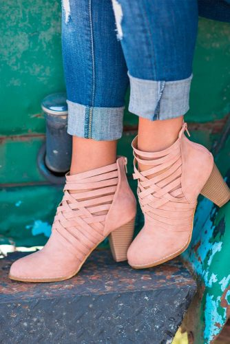 Pink Booties for Any Occasion