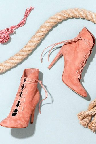 Lovely Pink Booties