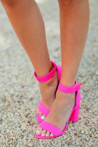 Ladies Pink Sandals picture5