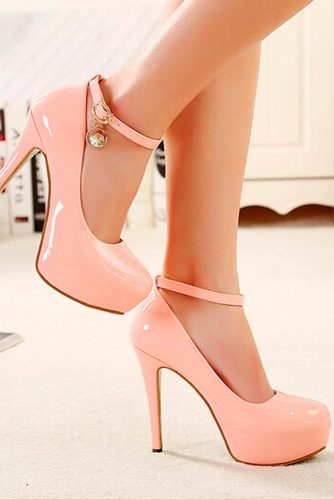 Elegant Pink Pumps