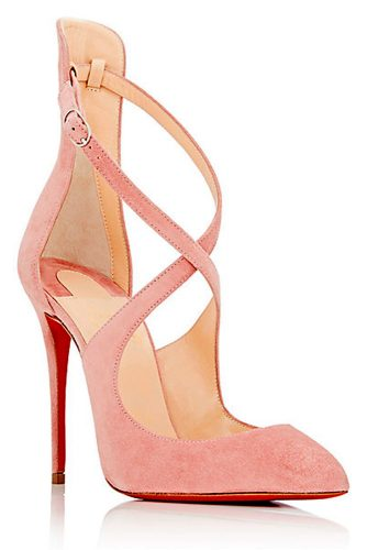 Ladies Pink Pumps for Spring Season