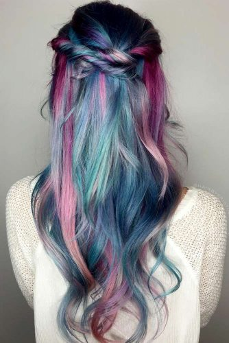 Pastel Braided Hairstyles picture2